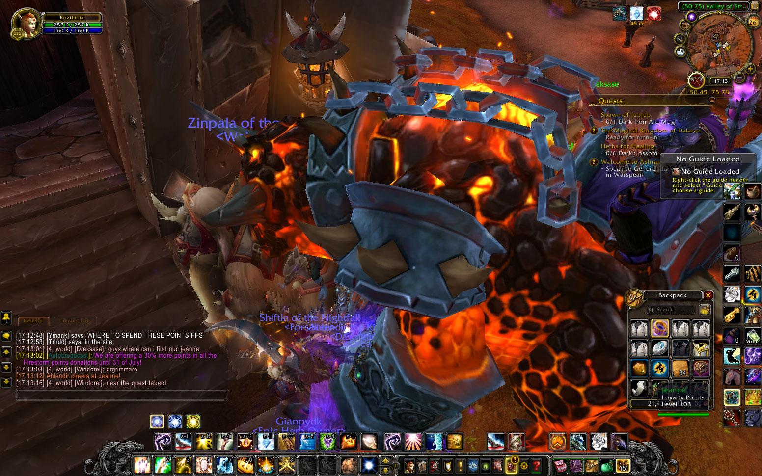 firestorm wow